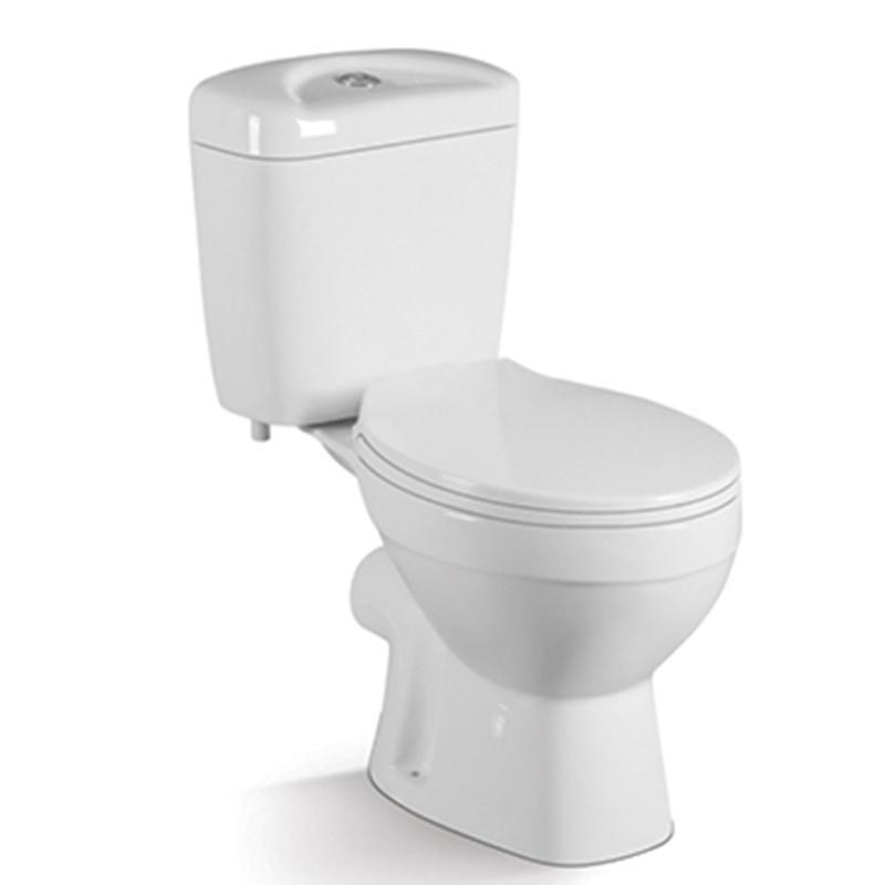 China Popular Toilet Model Washdown Two-piece  Close Stool 017P