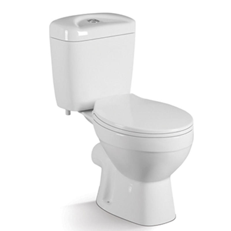 China Popular Toilet Model Washdown Two-piece  Close Stool 017P