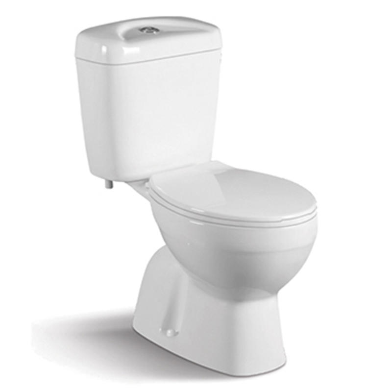 S-trap :200mm China Supply Project Two-piece Water Closet  017S