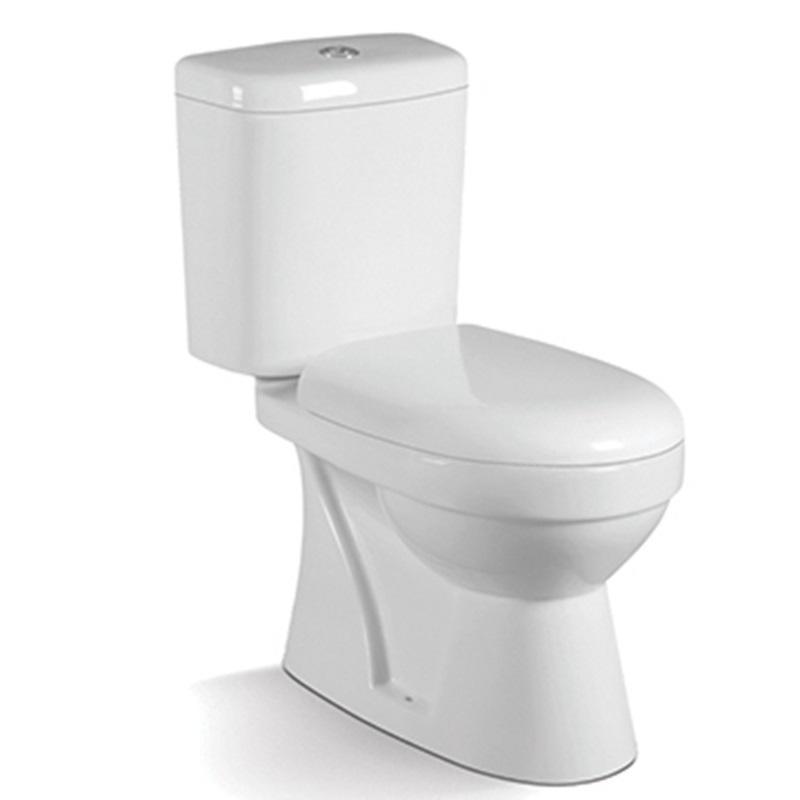 Malaysia Model 6/3L Washdown Two-piece Bathroom Toilet 055A