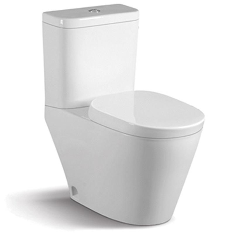S-trap:140mm Washdown Two-piece Porcelain Bathroom Close Couple 067