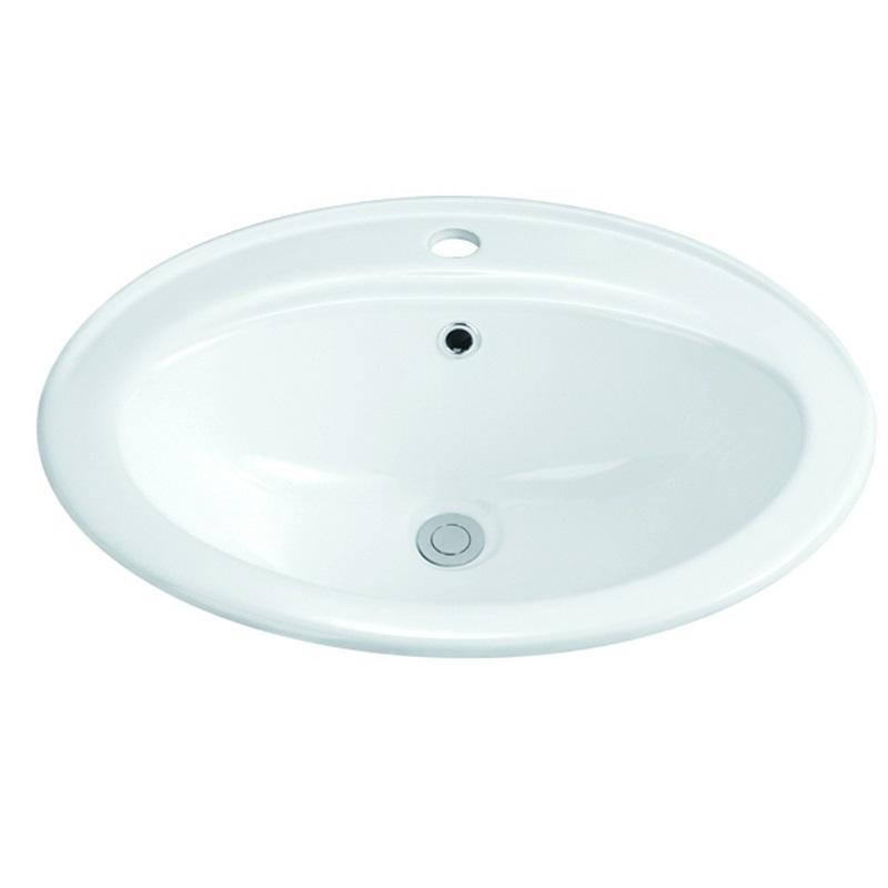560x470 Oval Classical Bathroom Above Counter Top Basin Sink 1-2201