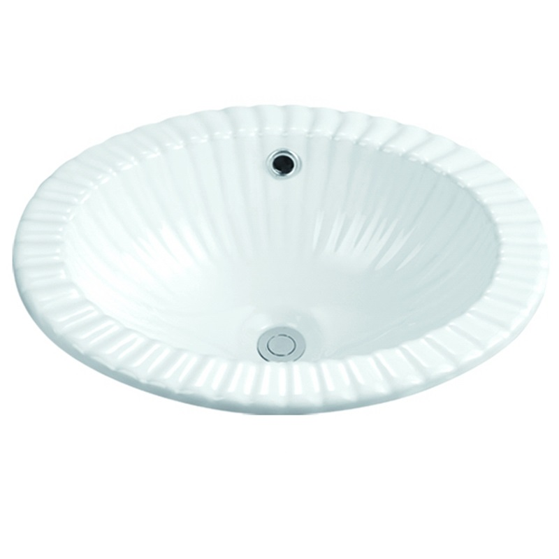 KEDIBO oval under counter basin at discount for mobile toilet-5