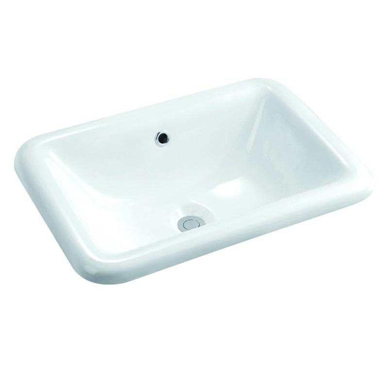 540x375 Rectangle Bathroom Ceramic Hand Wash Basin Sink 101