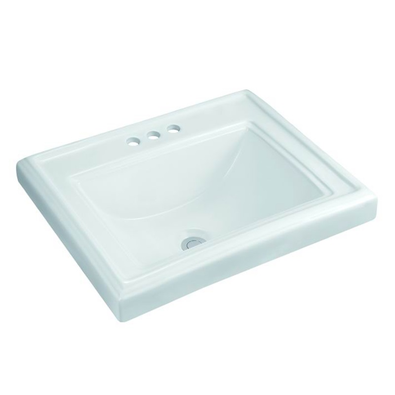 good-looking oval undermount bathroom sink counter export for shopping mall-1
