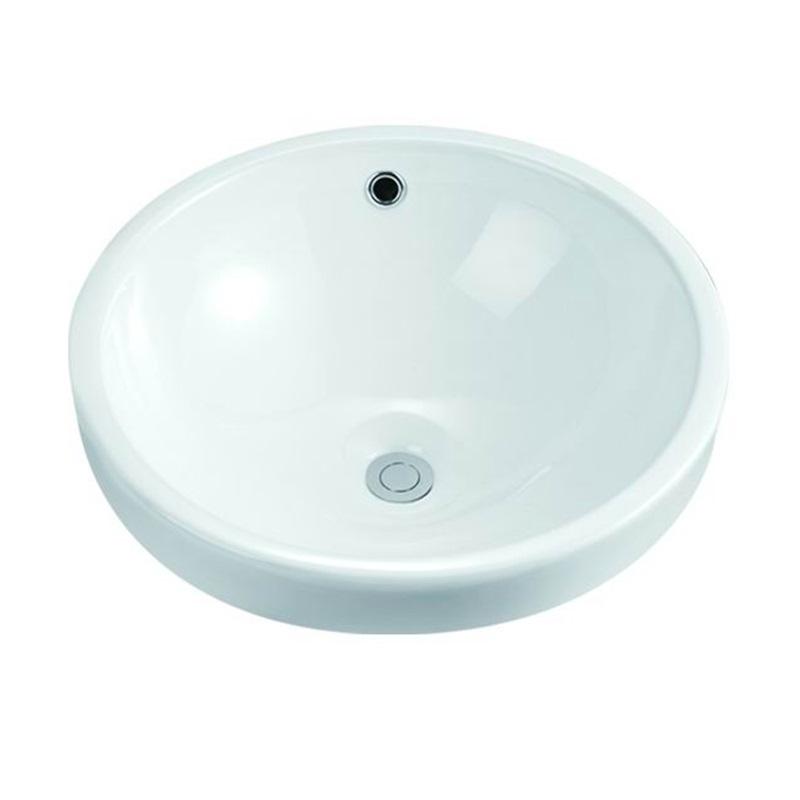 KEDIBO useful rectangular undermount bathroom sink semi for bank-1
