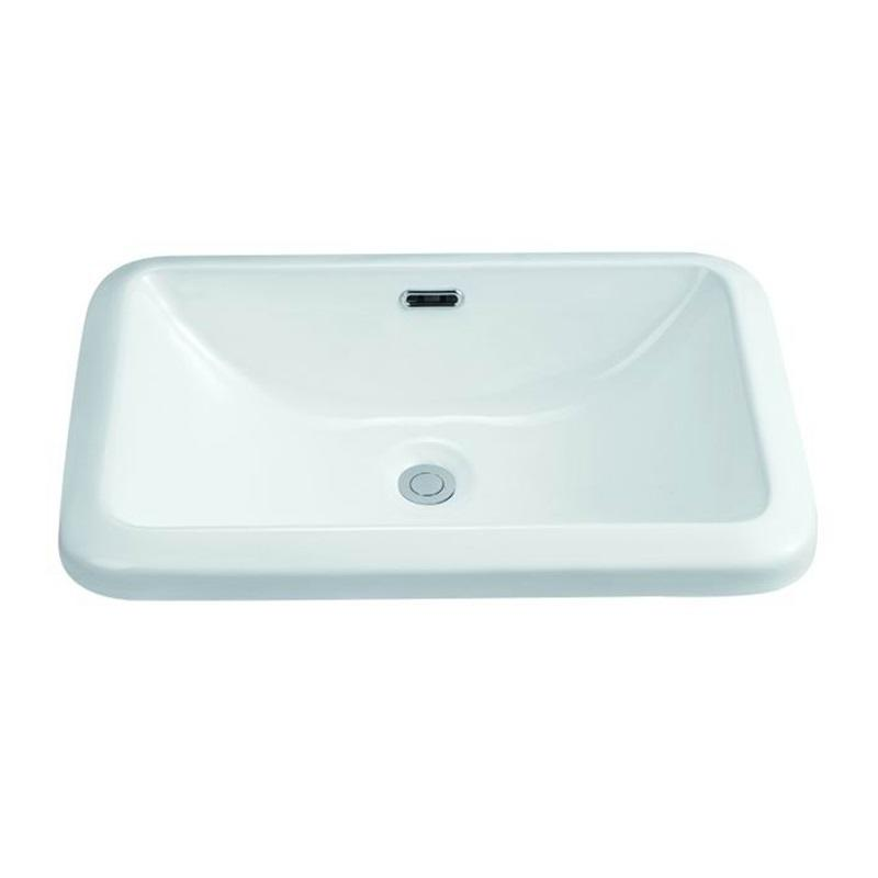 570x300 Rectangle Bathroom Ceramic Wash Bowl 109
