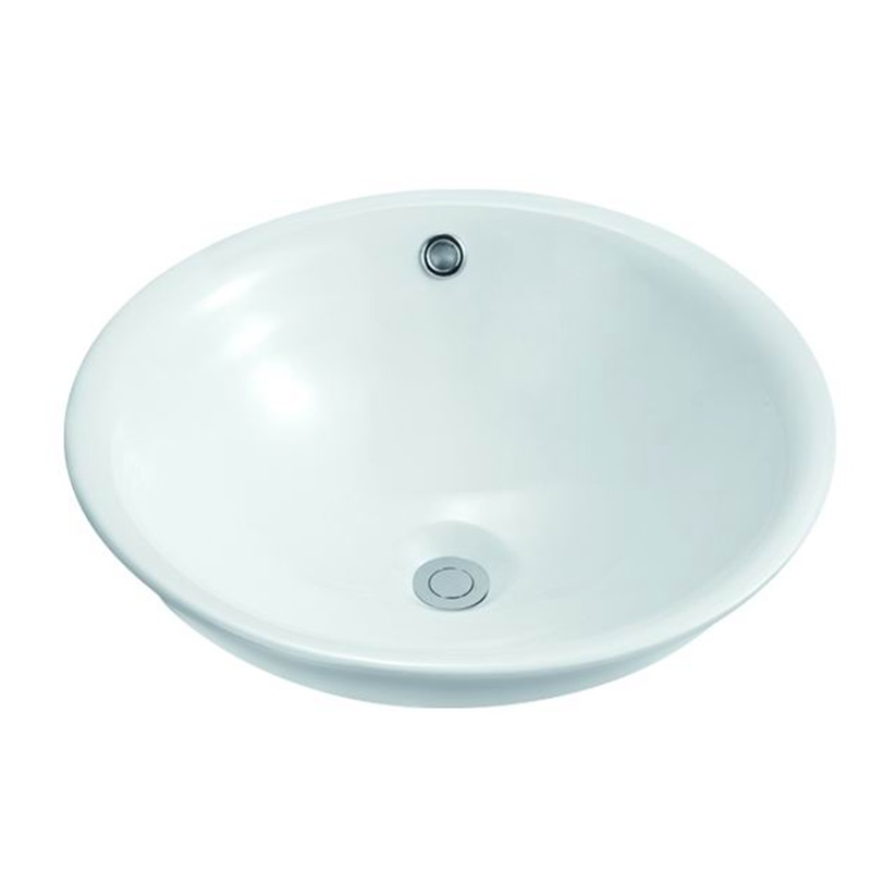 KEDIBO flat oval undermount bathroom sink factory price for mobile toilet-1