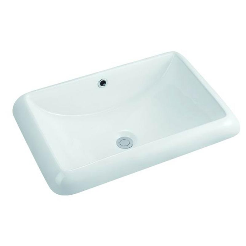560x400 Rectangle Ceramic Above Counter Top Basin Sink 111