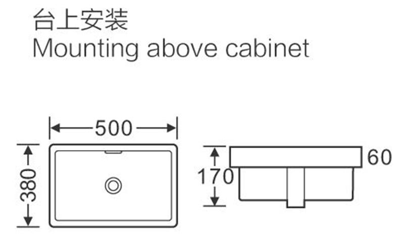 KEDIBO elegant under counter basin application for school-2