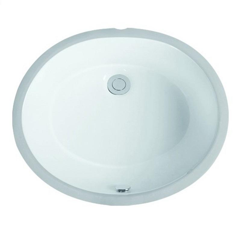 435x365 Oval Flat Bowl Under Mounted Vanity Basin Sink 2-1702