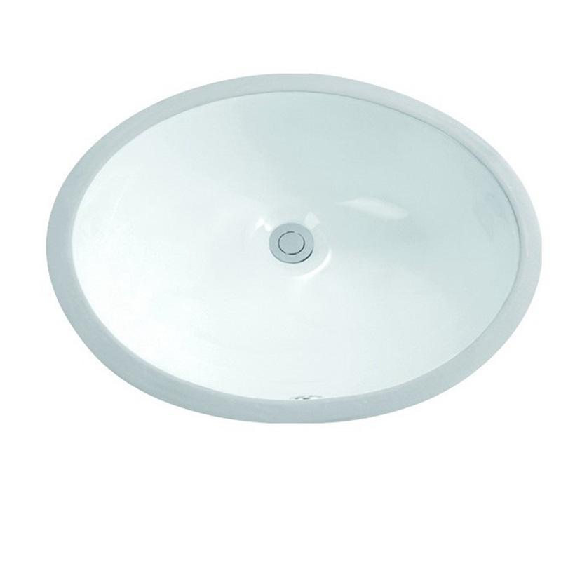 460x375 Washroom Oval Under Mounted Basin Sink 2-1802