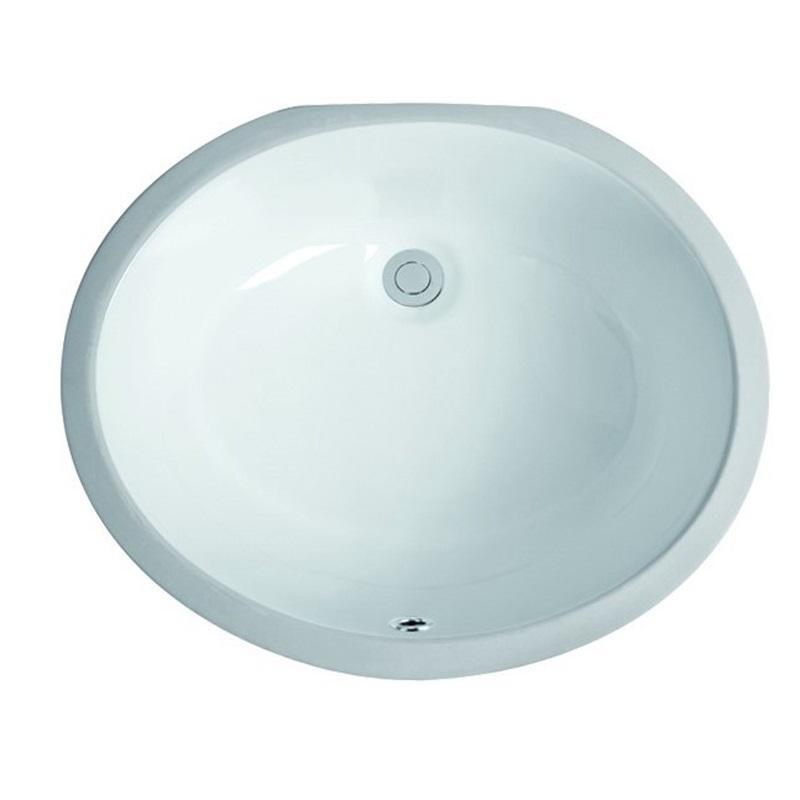 490x400 Bathroom Oval Under Mounted Wash Bowl 2-2002