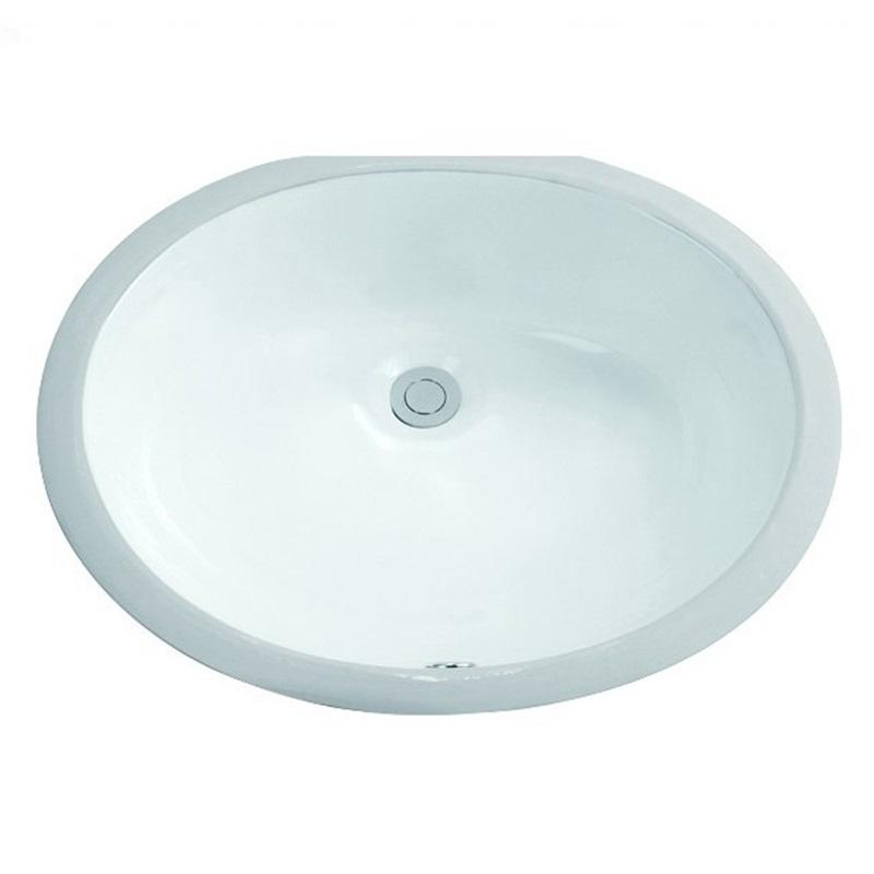 490x400 Oval Bathroom Undermounted Basin Sink 2-2010