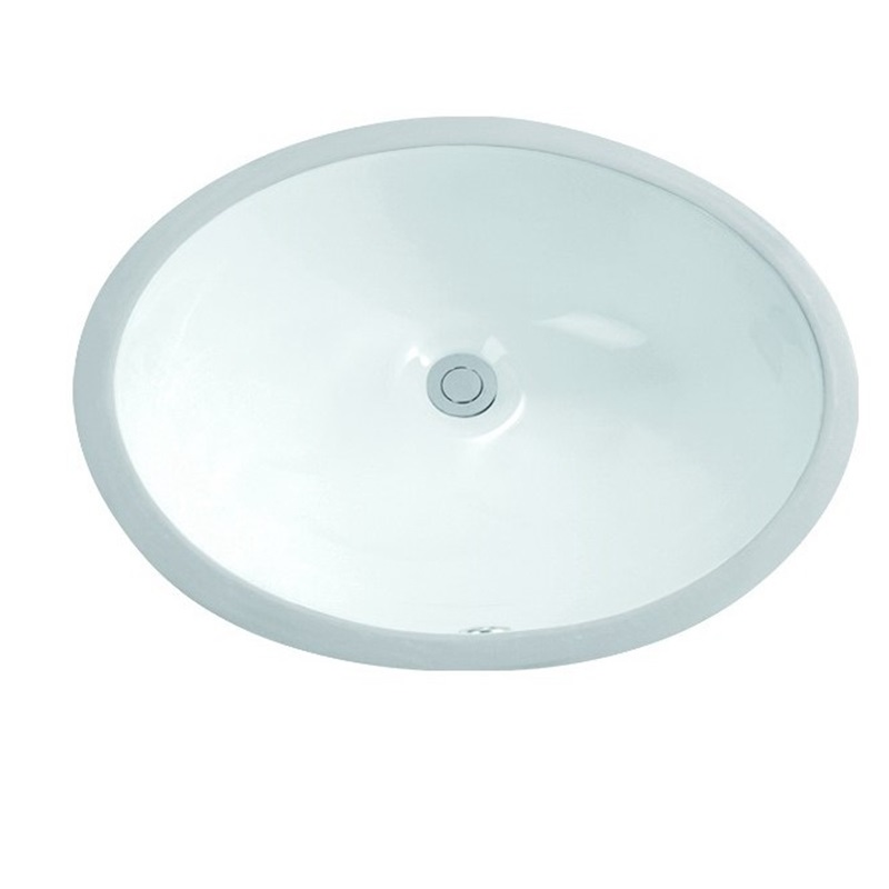 460x375 Washroom Oval Under Mounted Basin Sink 2-1802-5