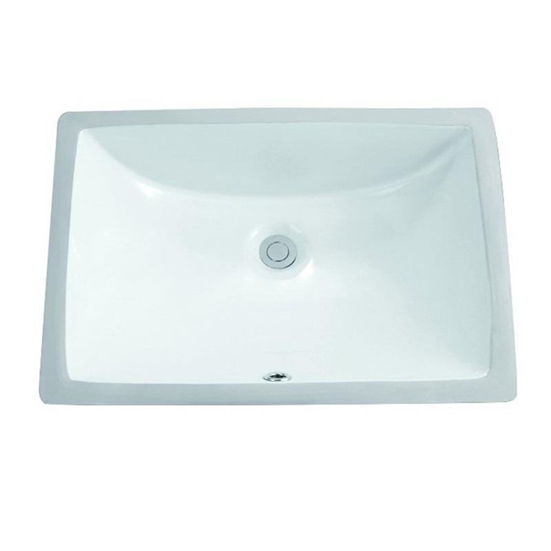 510x375 Lavatory Square Ceramic Under Mounted Basin Sink  2-2004