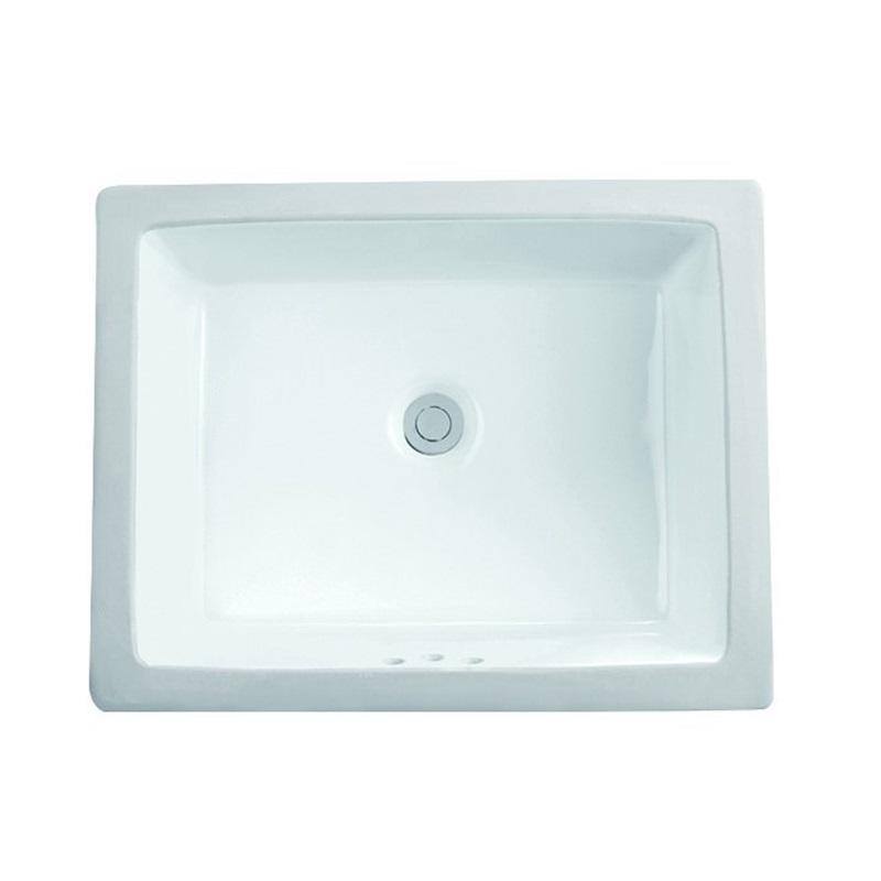 505X400 Square Washroom Classical Europe Under Mounted Basin Sink 2-2015
