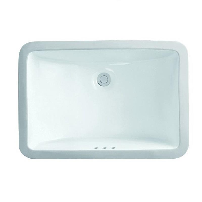 530x370 Bathroom Square High Grade Ceramic Under Mounted Basin 2-2101