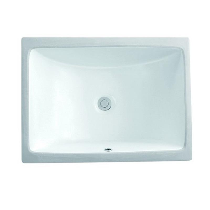 585x430 Lavatory Square Wash Basin Under Mounted Installation 2-2302
