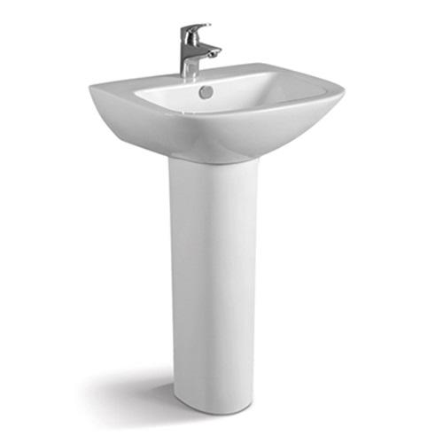 550x470 Rectangle Bathroom/Outdoor Pedestal Basin 080B