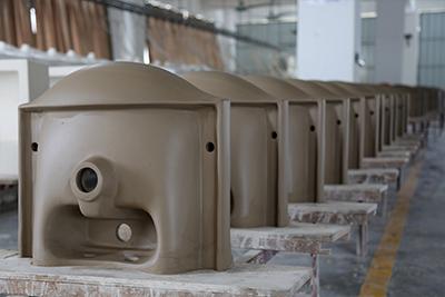 555X470 Classical Pedestal Wash Basin Sink 013B-9