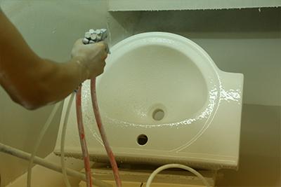 555X470 Classical Pedestal Wash Basin Sink 013B-13