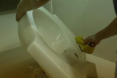 555X470 Classical Pedestal Wash Basin Sink 013B-14