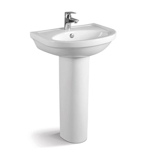 555X470 Classical Pedestal Wash Basin Sink 013B-5