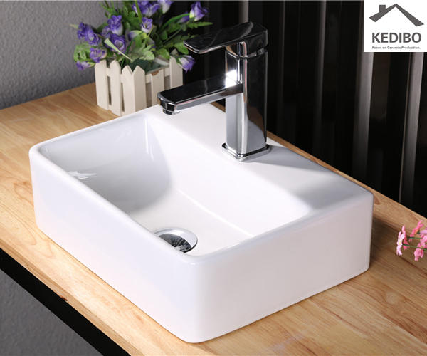 KEDIBO half table top wash basin from manufacturer for hotel