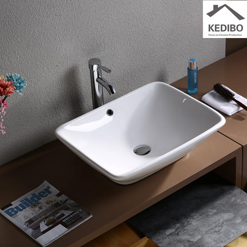 oval trend basin china factory for airport KEDIBO
