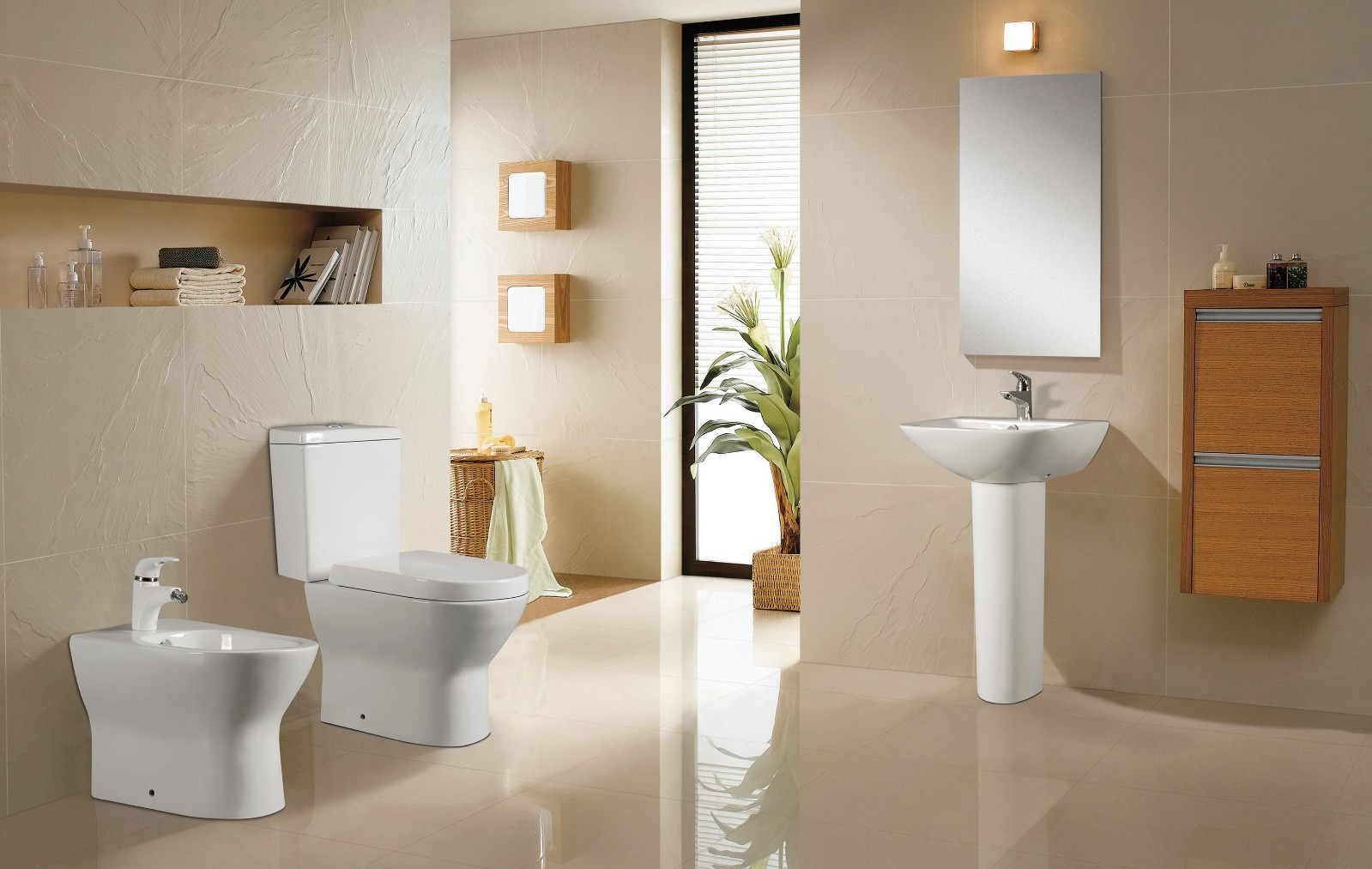 KEDIBO onepiece two piece toilet in china for hotel-4