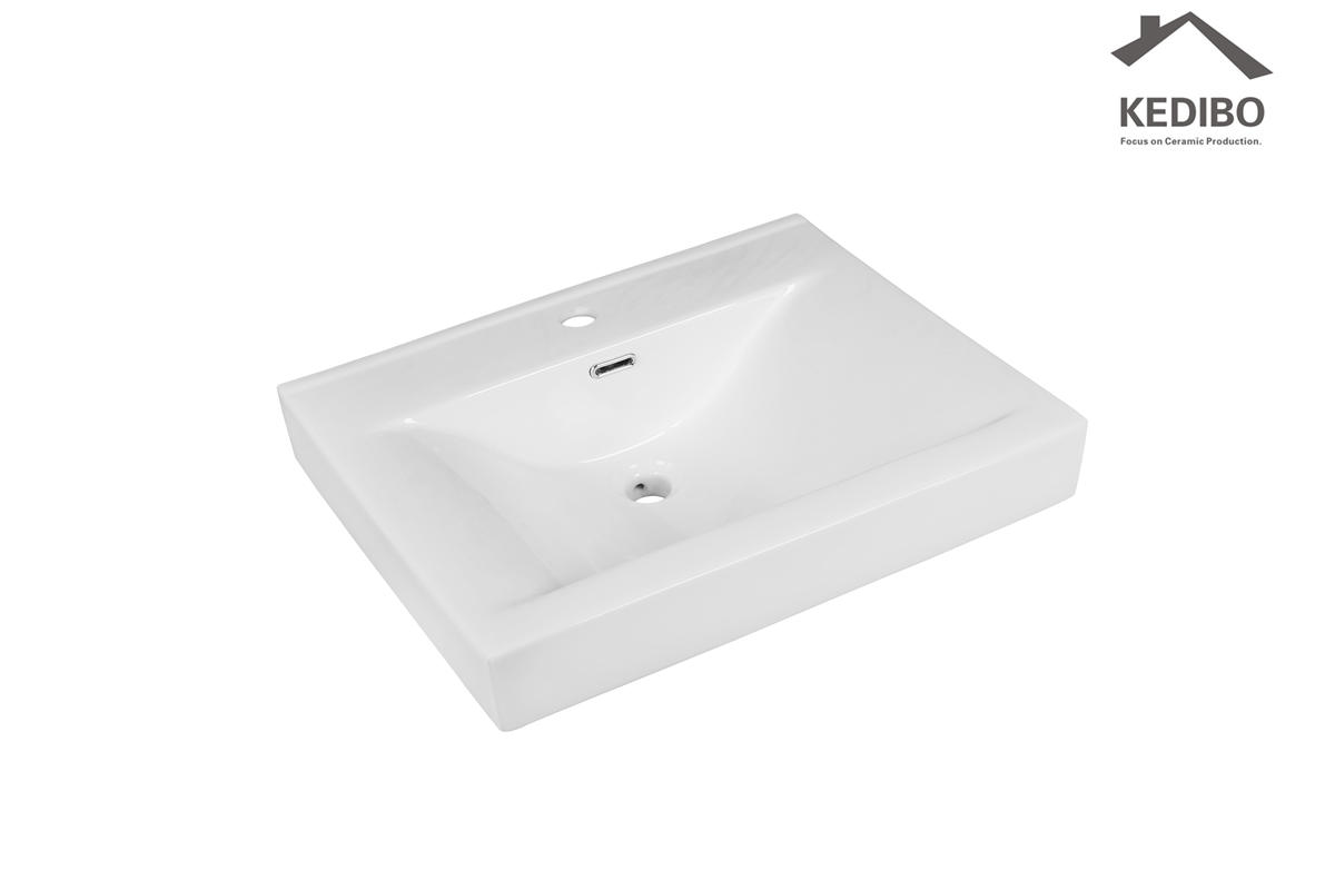 Square Thick Cabinet Basin Exporting to American market (M)