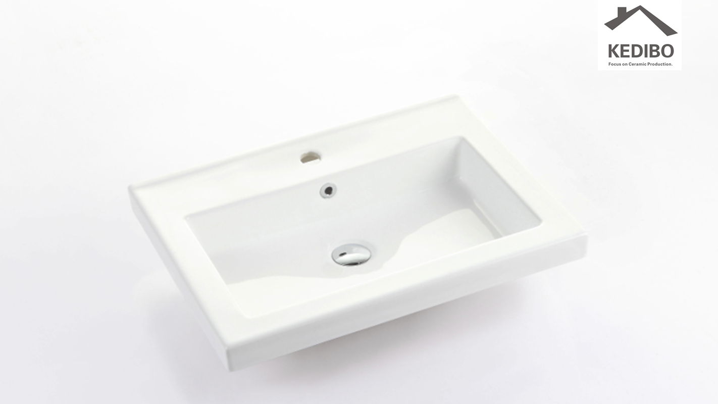 KEDIBO competetive price wash basin with cabinet overseas market for bathroom-1