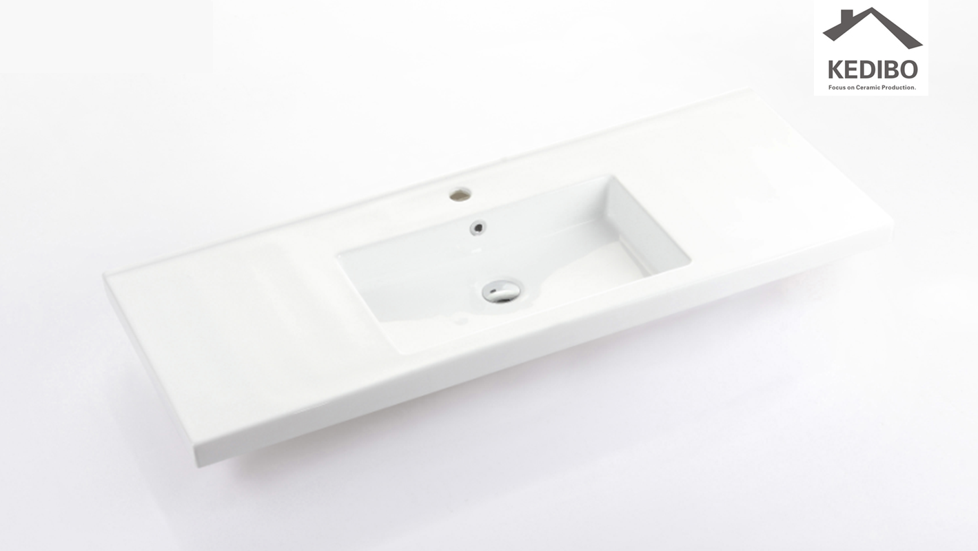 KEDIBO competetive price wash basin with cabinet overseas market for bathroom