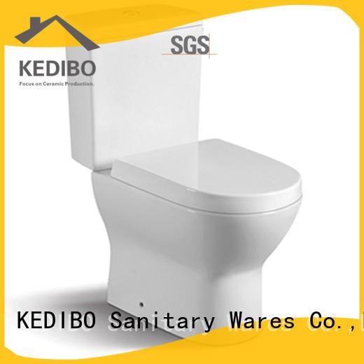 KEDIBO ceramic two piece toilet producer for bank