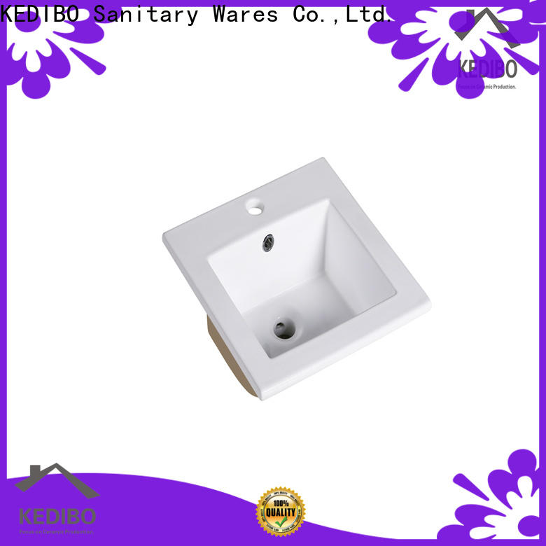 competetive price wash basin with cabinet think export for apartment