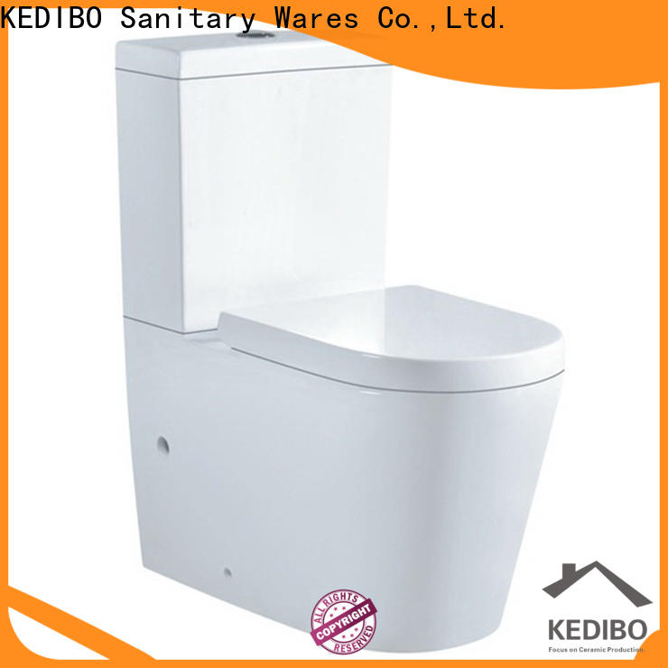 KEDIBO modern two piece toilet in china for bank