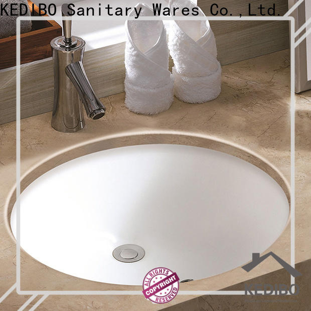 KEDIBO high-quality oval undermount bathroom sink free design for bank