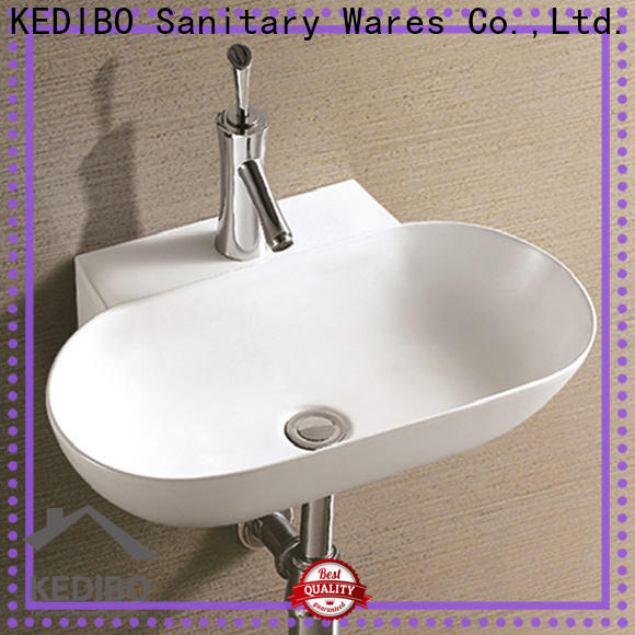 KEDIBO slim wall mounted basin overseas market for indoor bathroom