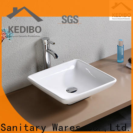 modern counter top wash basin exporter for shopping mall