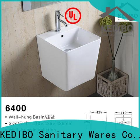 high-quality wall mounted basin halfpedestal overseas market for washroom