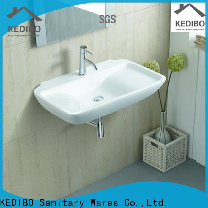 KEDIBO multifunction wall hung basin overseas market for indoor bathroom