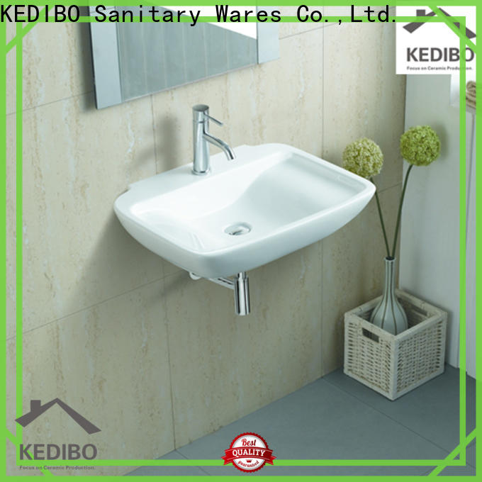KEDIBO bowl wall hung basin bulk production for official bathroom