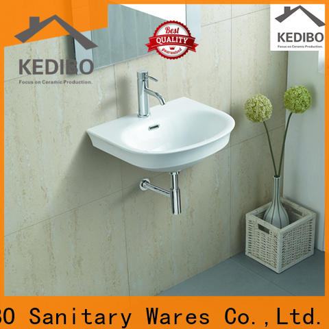 widely used wall mounted basin bathroom wholesale for commercial hotel