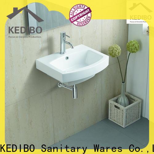KEDIBO pratical wall hung basin supplier for washroom