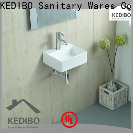 good price wall mounted basin ceramic bulk production for indoor bathroom