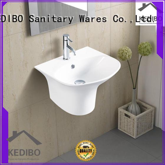 KEDIBO pratical wall hung basin bulk production for bathroom