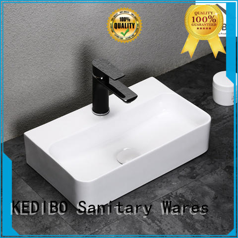 deep without KEDIBO Brand toilet wash basin design factory