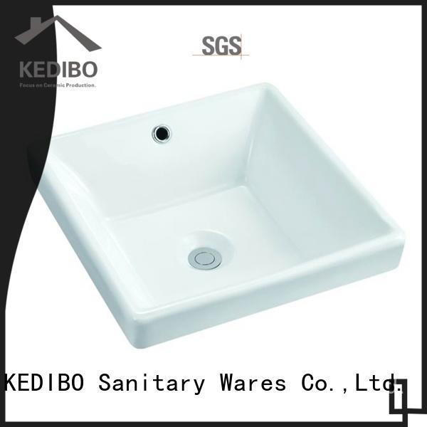 washing oval undermount bathroom sink for wholesale for school KEDIBO