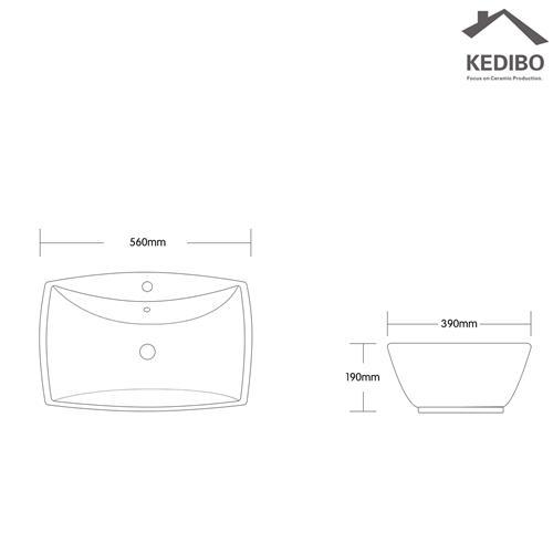 cheap bathroom sinks order now for washroom KEDIBO-1
